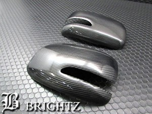 BRIGHTZ ムーヴコンテ L575S L585S リアルカーボンドアミラーカバー Cタイプ HNT-8077-KM