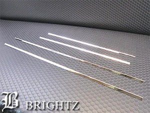 BRIGHTZ ワゴンRスティングレイー MH34S MH44S 超鏡面ステンレスメッキウィンドウモール 4PCWIN−SIL−133
