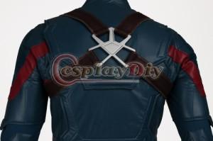高品質 高級コスプレ衣装 キャプテンアメリカ 風 オーダーメイド ボディースーツ Civil War Adult Men's Captain America Cosplay