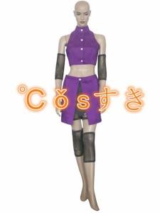 NARUTO ナルト 疾風伝  イノ 山中井野  やまなかいの  コスプレ衣装  COS 高品質 新品 Cosplay アニメ コスチューム