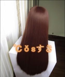 コスプレウィッグ がっこうぐらし! 若狭 悠里 髪飾りなし cosplay wig 耐熱 変装用 ネット付 かつら