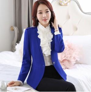 レディース通勤テーラード フォーマル事務服パンツスーツ弁護士OLビジネス ジャケット+白シャツ+長ズボンorショートスカート3点セット