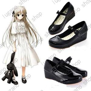 ヨスガノソラ   春日野 空(かすがの そら) 風 ブーツ、靴★ コスプレ道具/小物 *D411