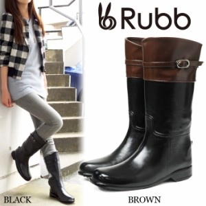 送料無料 Rubb ALBI ラバーブーツ 長靴 Rubbラブ ジョッキーブーツ レインブーツ レインシューズ