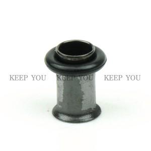 【メール便 送料無料】ボディピアス ハーフフレア ブラック 2GA(6mm) Anodized BLACK ボディーピアス ┃