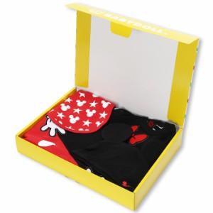 NEW 送料無料 BOX付3点セット ディズニー_キャラクターなりきり コーデギフトセット-ベビーベビードール 子供服 DISNEY-7500B コスプレ