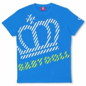 限定SALE60%OFF アウトレット 親子ペア ボーダーMIX斜めロゴTシャツ-大人 レディース メンズ 子供服-7970A【XL通販限定】