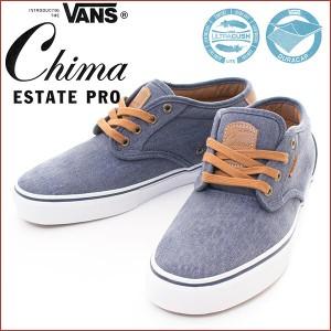 VANS バンズ CHIMA ESTATE PRO チマ・ファーガソン プロ スニーカー メンズシューズ 靴 スケートシューズ プロスケートライン ネイビー
