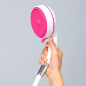 【送料無料】【おうちでエステ♪美肌ケアとスカルプケアができる】エステシャワープロ(フェイス) ピンク