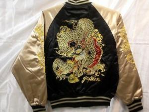 スカジャン 新龍 日本製本格刺繍のスカジャン