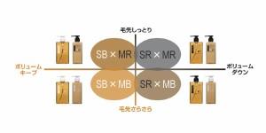 フィヨーレ Fプロテクト シャンプー&1000ml マスク 詰め替えセット 【4つの組み合わせからお選び下さい】 SB×MR/SB×MB/SR×MR/SR×MB