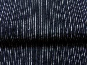 帯簡単 粋なメンズ男性浴衣とワンタッチ結び角帯セットしじら織黒白ラインM・L・LL