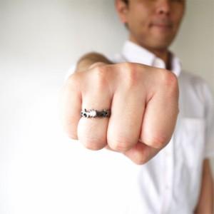 ステンレスリング トゥインクルアイビーリング 指輪 ゆびわ