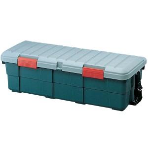 収納 ボックス アイリスオーヤマ 車 カートランク CK-130 グレー/ダークグリーン鍵穴 (幅130×奥行45×高さ39cm)【24時間限定セール】