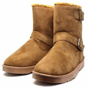 送料無料 メンズ ムートンブーツ 靴 シューズ ファー ムートン ショートブーツ ルミニーオ ブーツ シークレット インヒール付 42315