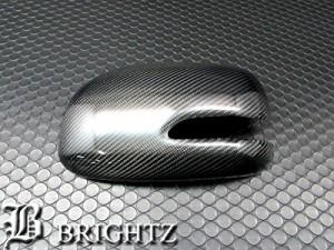 BRIGHTZ タントカスタム L375S L385S リアルカーボンドアミラーカバー Cタイプ HNT-8077-KM
