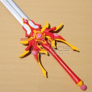 高品質 高級 コスプレ道具 オーダーメイド 魔法騎士 レイアース 風 獅堂 光 タイプ 武器 剣(模造)ソード Ver.1