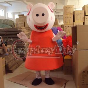 高品質 高級コスプレ衣装 着ぐるみ ペッパピッグ 風 マスコット イベント 催事 マスコット 誕生日会 サプライズ Peppa Pig Mascot