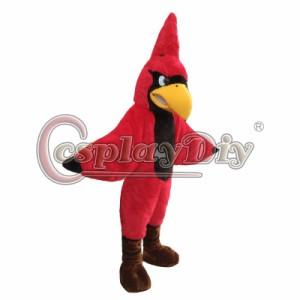高品質 高級コスプレ衣装 着ぐるみ オウム 鳥 風 マスコット イベント 催事 誕生日会 サプライズ Red Parrot Mascot Cosplay Costume
