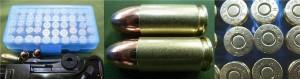 9mmルガー リアルダミーカートリッジ 8発セット【op121】