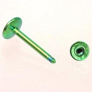 【メール便 送料無料】コーン ラブレット カラー 14GA(1.6mm) ボディピアス/ボディーピアス/COLOR/金/黒/緑/虹/青/水色/紫/スパイク ┃
