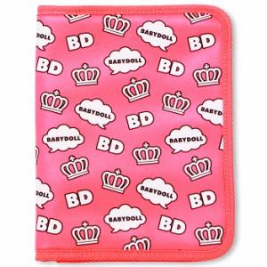 NEW♪母子手帳や通帳入れに♪デザインマルチポーチ_Lサイズ-雑貨ベビードール 子供服-5205
