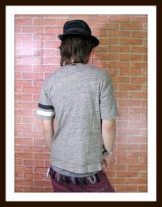 Eleven eightガーゼ生地半袖カーディガン[022-065B]