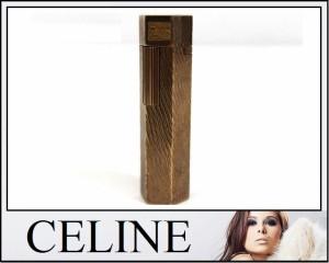 あす着 CELINE セリーヌ 6角 ガスライター 喫煙具 小物 ゴールド メンズ レディース ギフト プレゼント