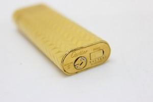 あす着 Cartier カルティエ オーバル ガスライター ゴールド 喫煙具 ギフト プレゼント
