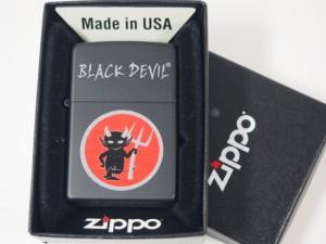 ジッポーZippoジッポーたばこ BLACK DEVIL(ブラックデビル)USA新品