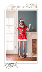 サンタ コスプレ サンタコス コスチューム サンタ衣装 セクシー 定番 ワンピ クリスマス 2018 サンタクロース サンタコスチューム