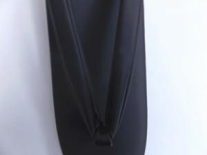 総黒草履ぞうり単品 和装着物喪服(お葬式・法事)用大きいサイズLL(日本製)