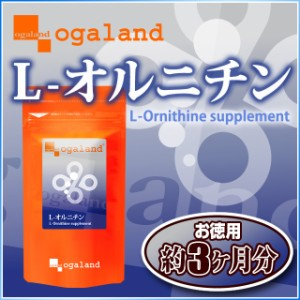 お徳用L-オルニチン(約3ヶ月分)3150円以上送料無料 アミノ酸 ダイエット しじみ 激安 サプリメント トイレ習慣 遊離アミノ酸