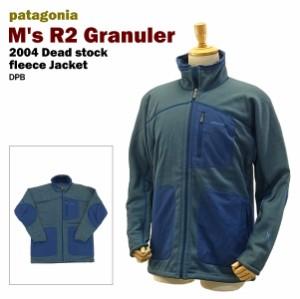 【送料無料】 パタゴニアフリースデットストック (2004 patagonia M's R2 Granuler DPB)