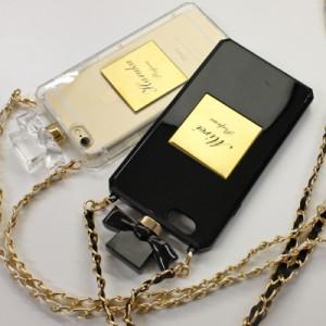 iPhone 6 5 ケース アイフォン かわいい カバー 香水 名入れ ブランド ≪名入れ Phone 香水ケースDタイプ≫ 【翌営業日出荷】