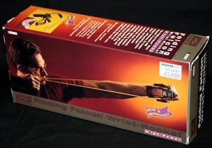 スリングショット(折りたたみ式パチンコ)【フォールディングファルコン リストロケット ハイパワー】サンダース