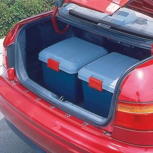 収納 ボックス アイリスオーヤマ 車 RVBOX RVボックス 400 (容量28L) グレー/ダークグリーン(幅42×奥行37.5×高さ33cm)