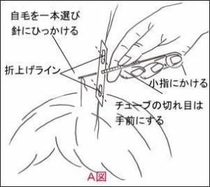家庭でできる【結ぶ増毛】アイヘアートライアルセット(初回お試し用)150本