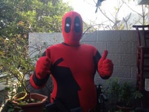 高品質 高級コスプレ衣装 デッドプール 風 コスチューム オーダーメイド ボディースーツ Red Deadpool Spandex Lycra