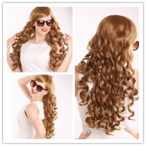 高品質 高級 コスプレ衣装 ヨーロッパ アニメ 風  wig ウイッグ オーダーメイド ウィッグ Long Curly Lolita Anime Cosplay Wig