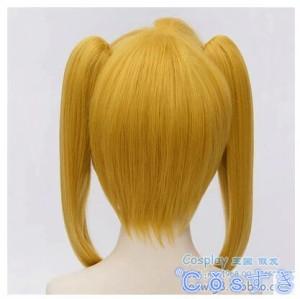 終わりのセラフ コスプレウィッグ 三宮 三葉 さんぐう みつばかつら cosplay wig 耐熱 変装用 新デザイン 専用ネット付