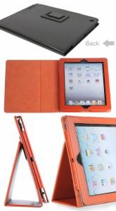 DM便送料無料 ipad2/ipad3/ipad4/ipad mini4 iPad Pro 9.7インチ  PUレザーケース smart cover対応