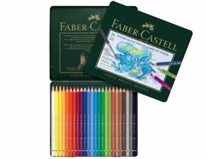 20%offドイツの最高級水彩色鉛筆ファーバーカステル24色セット