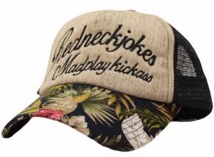 メッシュキャップ◆ハワイアン 帽子 メンズ