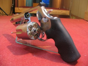 【モケイパドック】タナカ・M500コンペンセイター 3+1インチ ステンレス ガスリボルバーペガサスシステム【cat030】