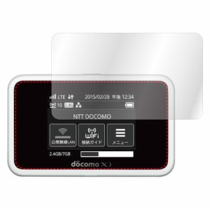 docomo Wi-Fi STATION HW-02G  専用専用 ノングレア画面保護フィルム3 防指紋・気泡吸収フィルム NGB-HW02G