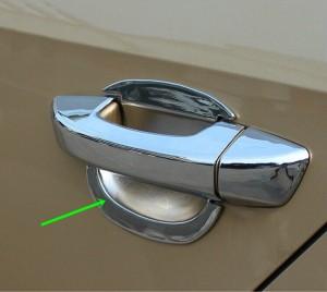 VW シャラン ドアハンドル ボウル クローム トリム 送料無料