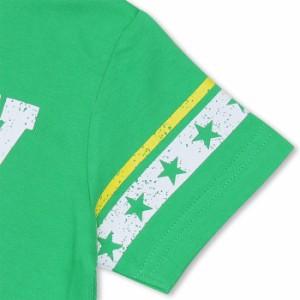 アウトレットSALE50%OFF 親子ペア 袖星ラインカスレTシャツ-大人 レディース メンズ 子供服-8095A【XL通販限定】