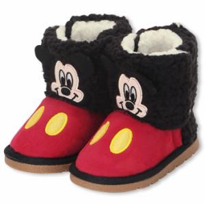 アウトレットSALE50%OFF ディズニー ボアブーツ/フェイクムートンブーツ-靴 子供用 ベビーサイズキッズ DISNEY-6854