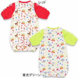 NEW ディズニー 新生児用2wayカバーオール/ドレスオール(総柄)-新生児用ベビーサイズ ベビードール 子供服 /DISNEY-7707B